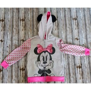 Minnie Mouse Hoodie Size 5 Girls